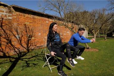 WATCH: LRG Fitness heart raising at-home workout