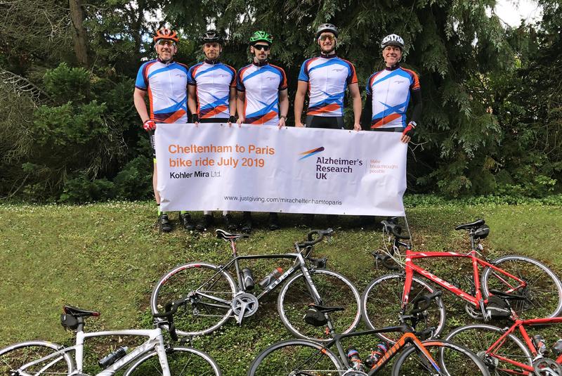 Kohler Mira team saddles up