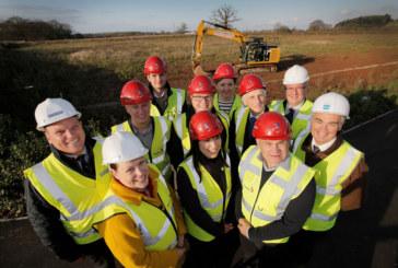 Construction begins at Worcester Six Kohler Mira site