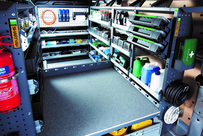 Keeping your van organised