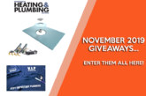 NOVEMBER GIVEAWAYS: Enter them all here!