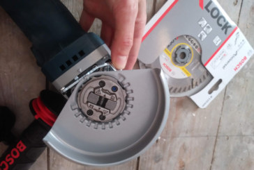 PRODUCT TEST: Bosch Professional X-Lock Angle Grinder