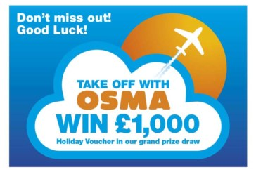 Take Off with Osma and win some amazing prizes!