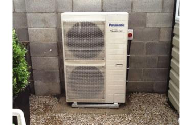 Panasonic Aquarea used in luxury home development