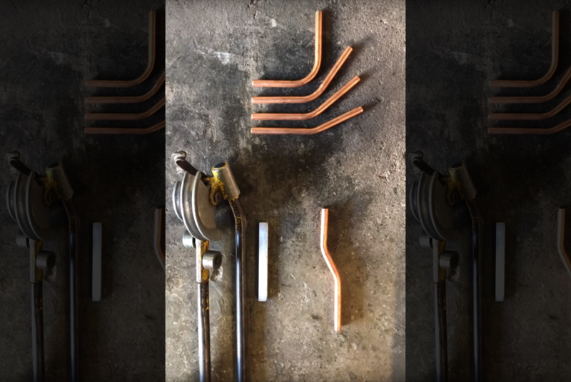 WATCH: How to bend copper pipe (part 2)
