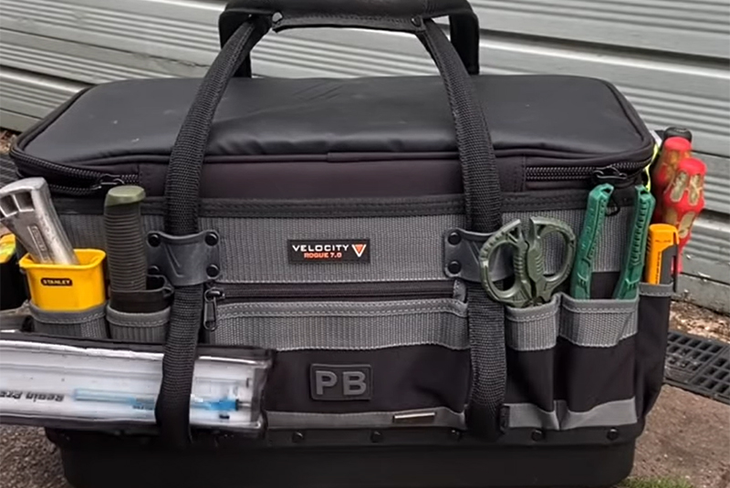 TOP STORIES OF 2020 #4: WATCH: The PB Plumber tool bag (part 2)