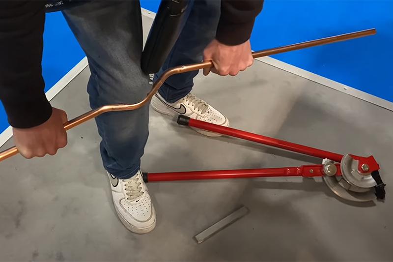 WATCH: The PB Plumber pipe bending challenge