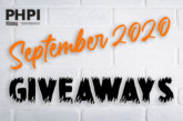 SEPTEMBER 2020 GIVEAWAYS: Enter them all here!