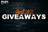 APRIL 2021 GIVEAWAYS: Enter them all here!