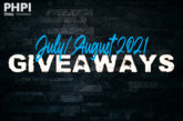 JULY/AUGUST 2021 GIVEAWAYS: Enter them all here!