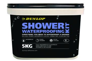 GIVEAWAY: Five Dunlop Shower Waterproofing Kits