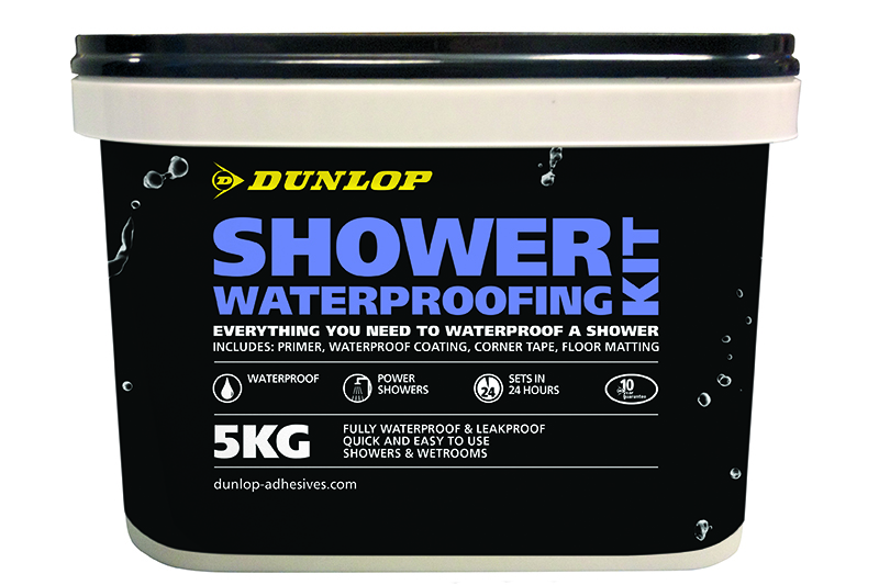GIVEAWAY: Five Dunlop Shower Waterproofing Kits