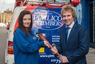 #PickMeCharlie social media challenge for aspiring plumbers