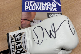 COMPETITION: Win a signed Dillian Whyte boxing glove!