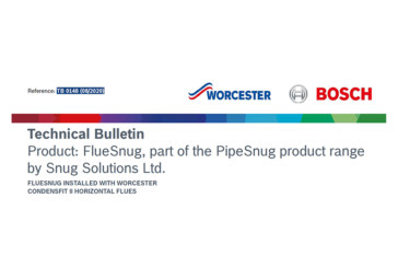 Worcester Bosch releases FlueSnug technical bulletin