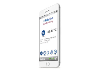 Polypipe Gets Smart With Underfloor Heating Control App