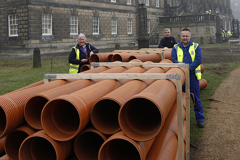 Polypipe helps stately home to lay plans for a greener future