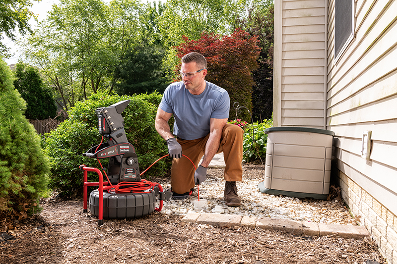 WATCH: RIDGID FlexShaft professional drain cleaner