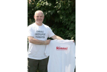 Rinnai goes the extra mile for cancer charity