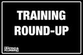 Training round-up – September 2019