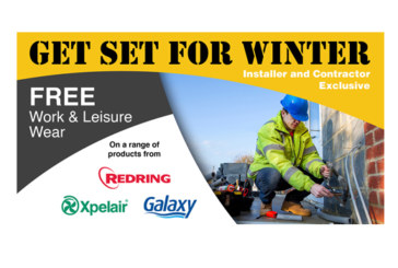 RXG warms up installers this winter with new promotion