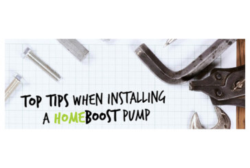 Home Boost installation tips