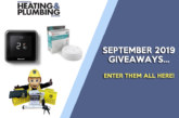 SEPTEMBER GIVEAWAYS: Enter them all here!