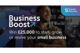 £25,000 Business Boost grant up for grabs to help start or grow a small business