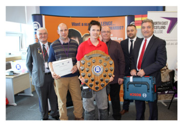 Aberdeen apprentice wins national plumbing competition