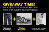 GIVEAWAY: Three bumper Snickers Workwear packages up for grabs!