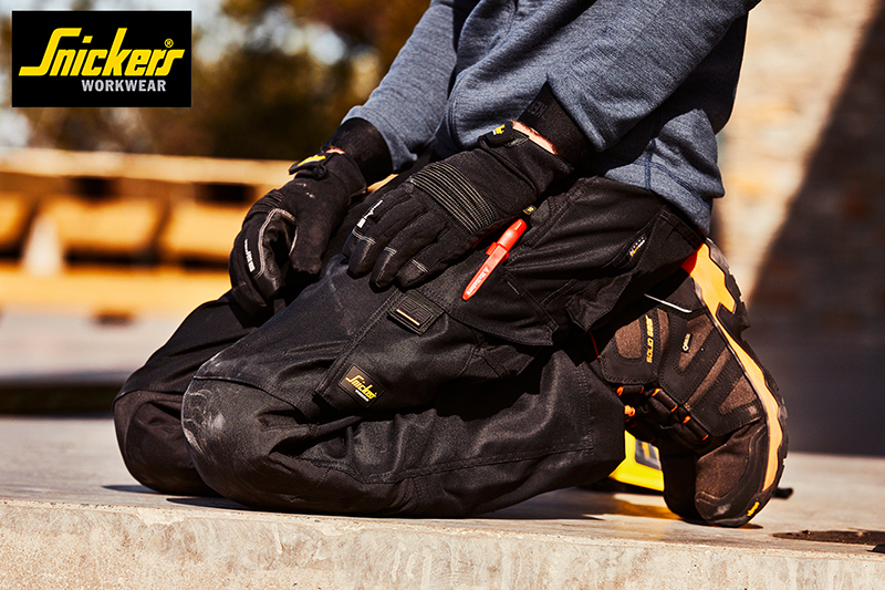 Snickers Workwear   New AllroundWork and FlexiWork work trousers