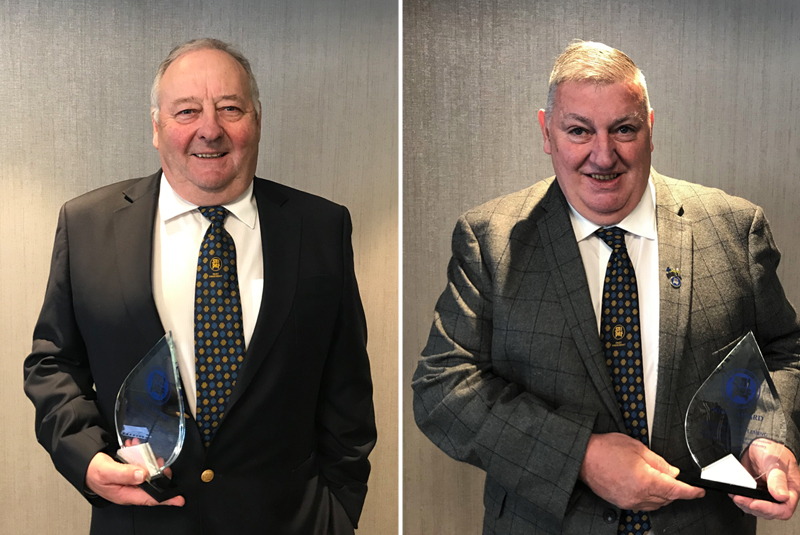 Long-time plumbers recognised