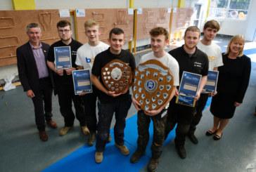Perth apprentices top Scottish SkillPLUMB competition