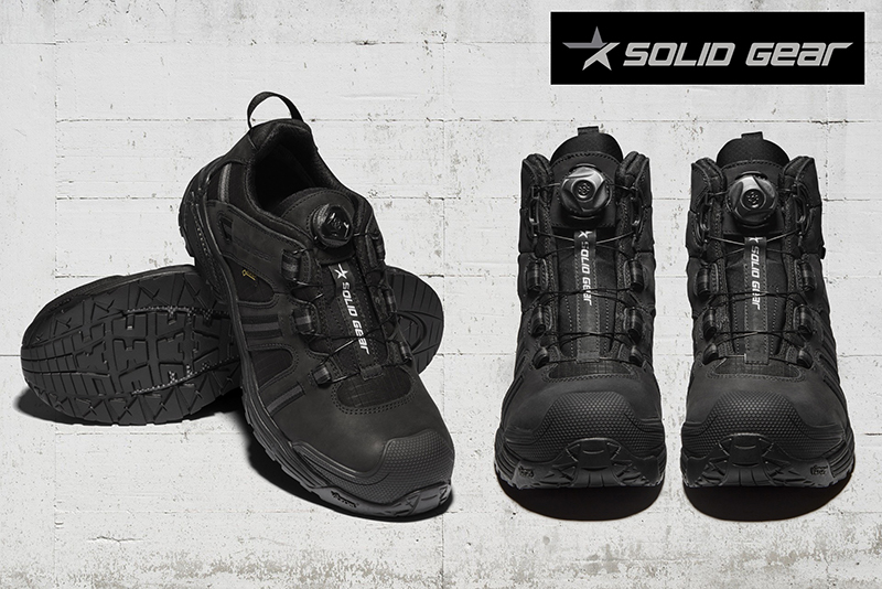 Solid Gear   Marshal and Enforcer safety footwear