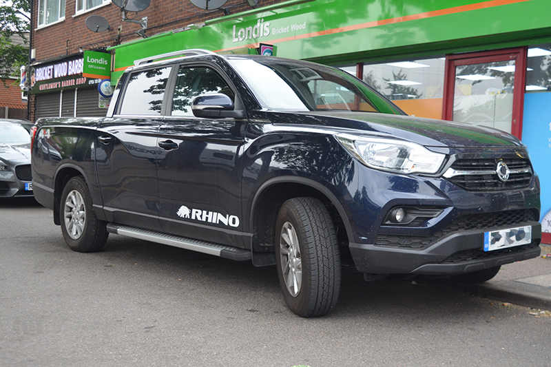 VEHICLE TEST: SsangYong Musso 4×4 Rhino