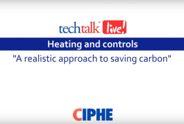 WATCH: CIPHE techtalk live! with Worcester, Bosch Group