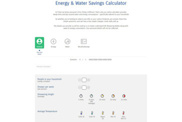 Triton Showers unveils water and energy savings calculator