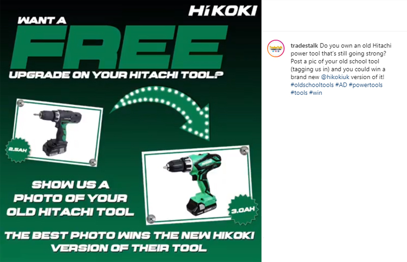 Win a new HiKOKI power tool in our #OldSchoolTools competition