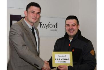 Twyford announces lucky winner
