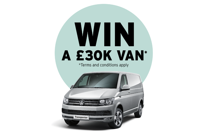Win a branded £30K van with Vaillant!