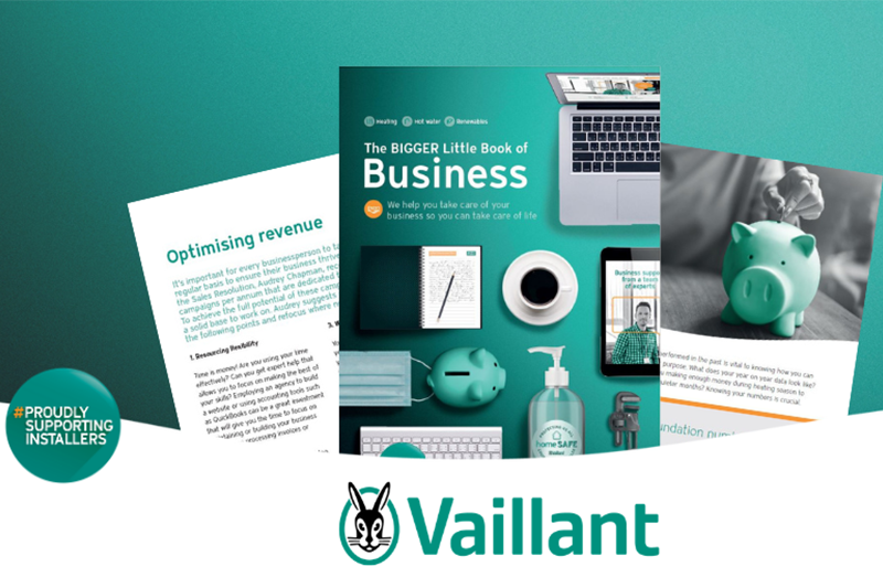 Vaillant unveils Bigger Little Book of Business to help installers in 2021