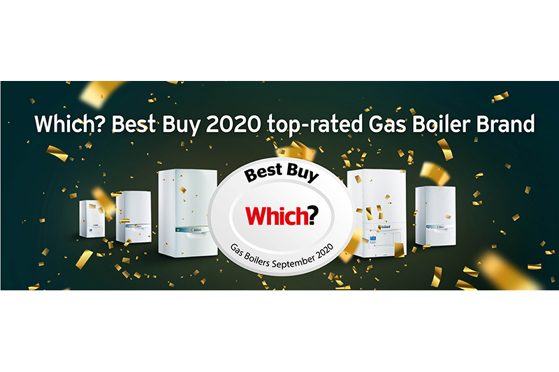 Vaillant ranked top UK gas boiler brand in Which? Best Buy 2020 report