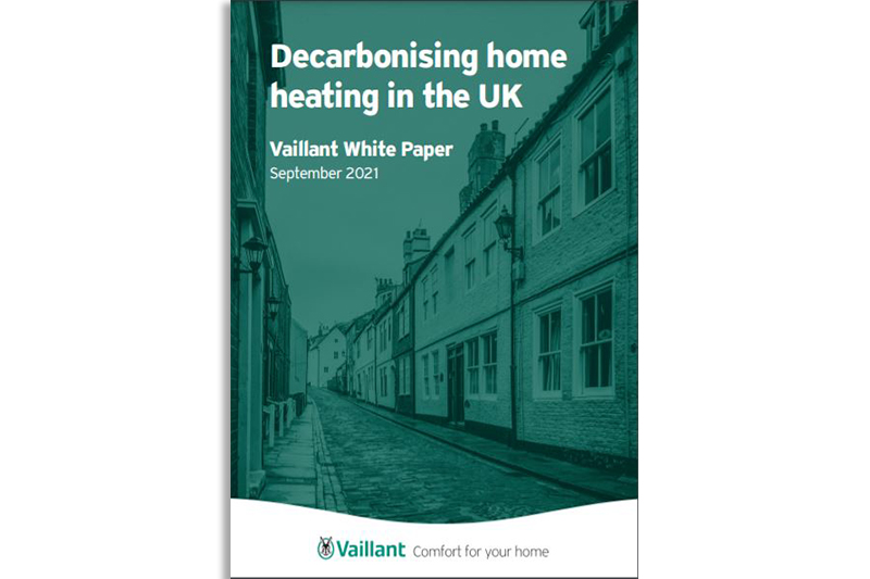 Vaillant launches White Paper to combat misconceptions around decarbonisation