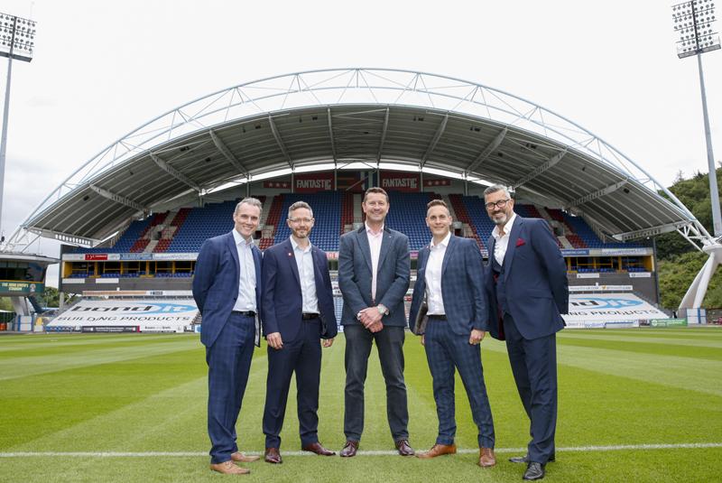 Viessmann scores hat trick at Huddersfield