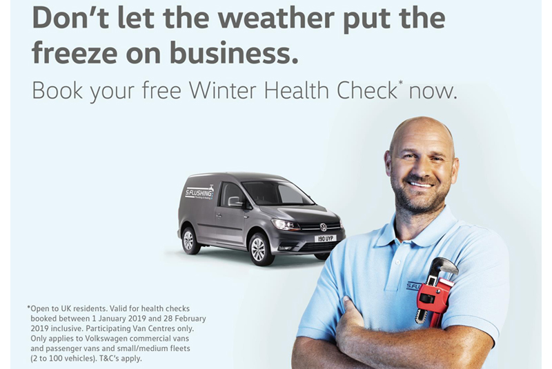 Free Winter Health Check from VW