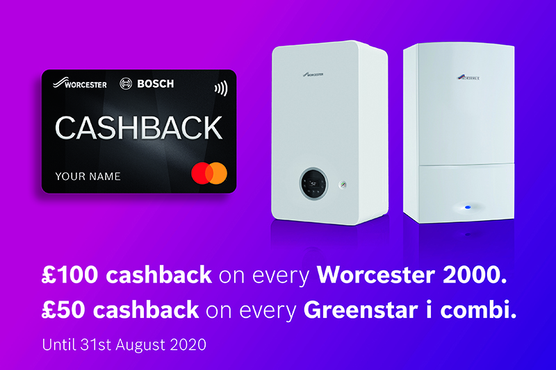 Cashback offer available on the Greenstar i combi