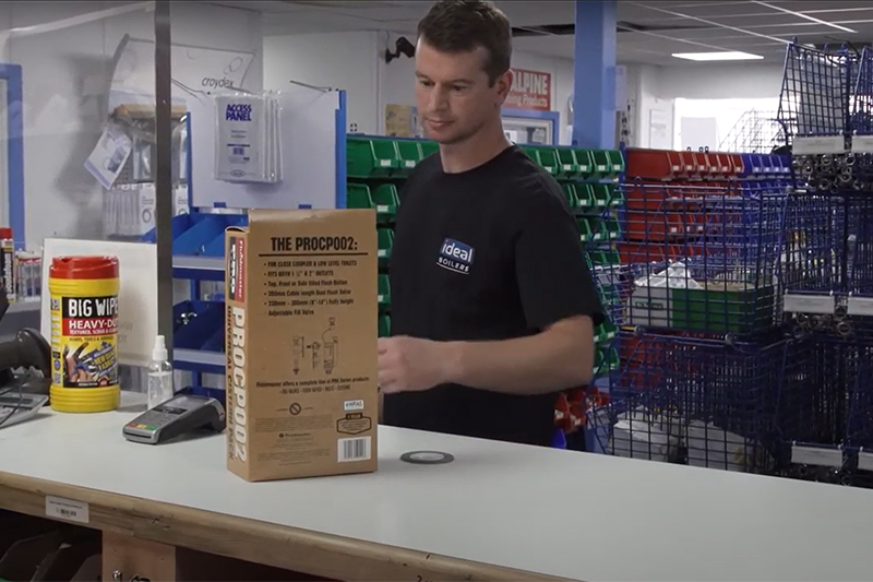 WATCH: COVID-19 secure trade counters at Williams & Co