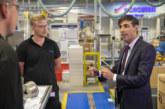 Chancellor visits Worcester Bosch