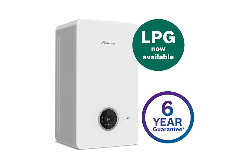 Worcester Bosch releases LPG variant of Greenstar 2000